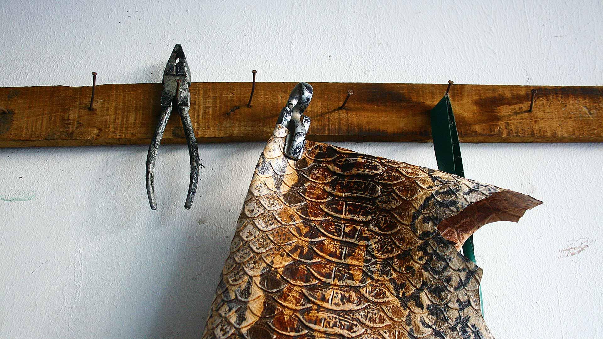 Tannery Arena artigiani della pelle