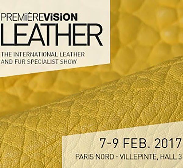 Première Vision Leather feb. 2017